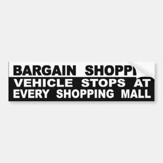 Adesivo Para Carro Paradas do veículo em cada centro comercial
