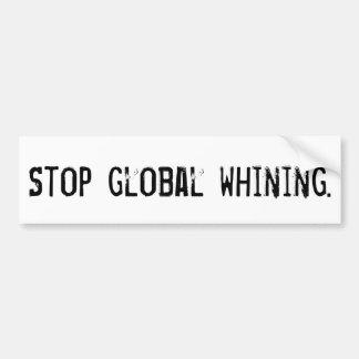 Adesivo Para Carro Pare a lamentação global