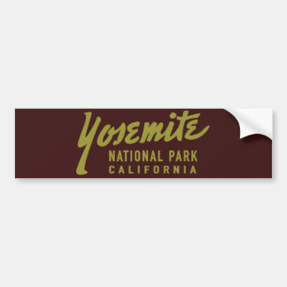 Adesivo Para Carro Parque nacional de Yosemite