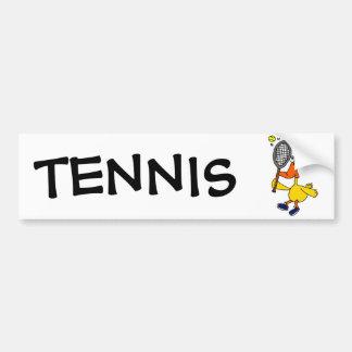 Adesivo Para Carro Pato engraçado do BR que joga o tênis