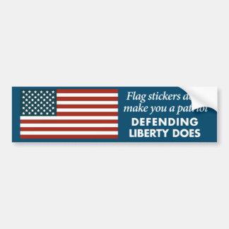 Adesivo Para Carro Patriotismo da etiqueta da bandeira