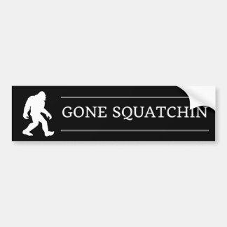 Adesivo Para Carro Pé grande engraçado Squatchin ido Sasquatch