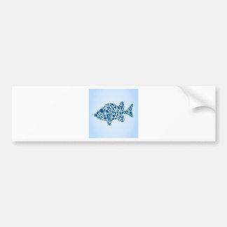 Adesivo Para Carro Peixes da silhueta