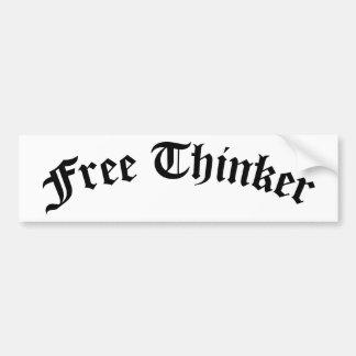 Adesivo Para Carro Pensador livre