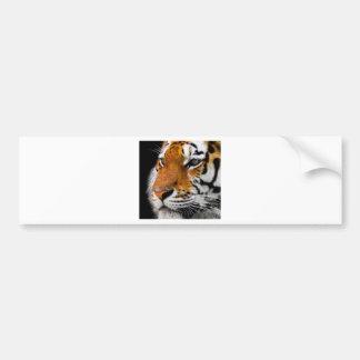Adesivo Para Carro Perigoso predador animal de Amurtiger do gato de