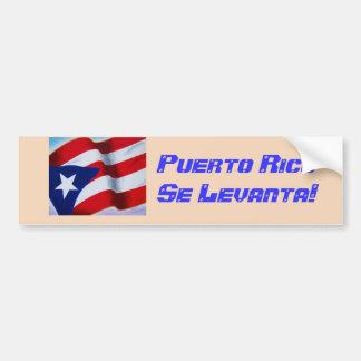 Adesivo Para Carro Perito em software Levanta de Puerto Rico -