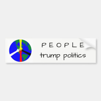 Adesivo Para Carro Pessoas da política do trunfo - autocolante no