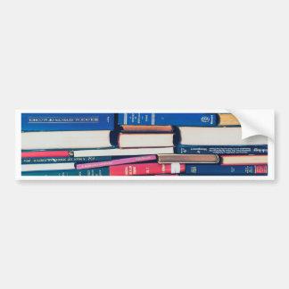 Adesivo Para Carro Pilha de livros