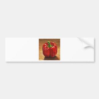 Adesivo Para Carro Pimenta de Bell vermelha