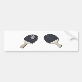 Adesivo Para Carro PingPongGlobe052711
