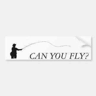 Adesivo Para Carro Pode você voar, autocolante no vidro traseiro da