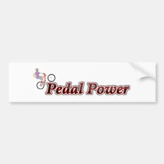Adesivo Para Carro Poder do pedal