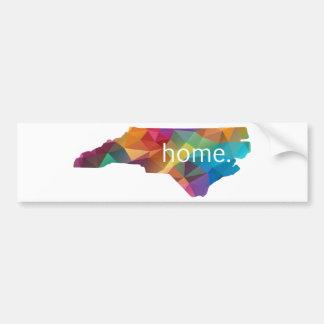 Adesivo Para Carro Poli HOME de North Carolina baixo