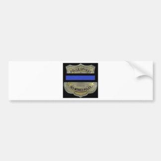 Adesivo Para Carro Polícia de Des Moines