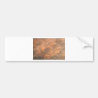Adesivo Para Carro Por do sol através das nuvens