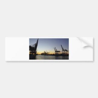 Adesivo Para Carro porto de Hamburgo