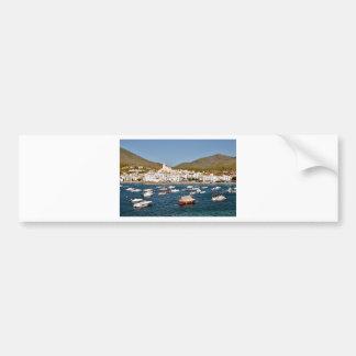 Adesivo Para Carro Porto e cidade de Cadaqués na espanha
