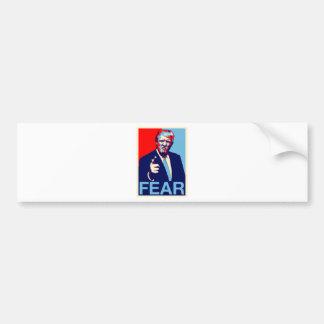 "Adesivo Para Carro Poster 2017 da paródia do ""medo"" de Donald Trump"