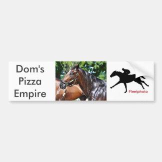 Adesivo Para Carro Potro do império da pizza dos DOM