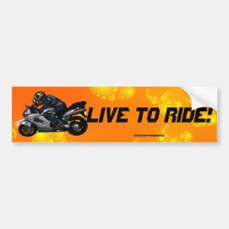 Adesivo Para Carro Presente do transporte do motociclista do poder da