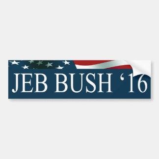 Adesivo Para Carro Presidente de Jeb Bush em 2016