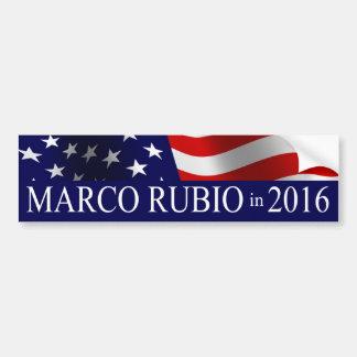 Adesivo Para Carro Presidente de Marco Rubio em 2016