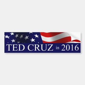 Adesivo Para Carro Presidente de Ted Cruz em 2016