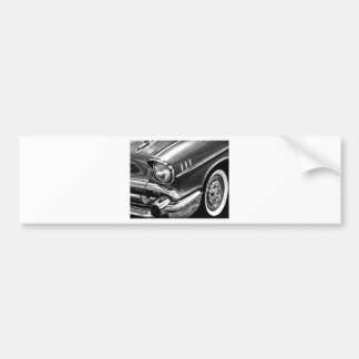 Adesivo Para Carro Preto 1957 & branco do Bel Air de Chevrolet