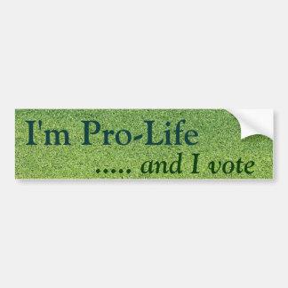 Adesivo Para Carro Pro eleitor da vida