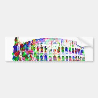 Adesivo Para Carro Produtos arquitectónicos coloridos romanos de