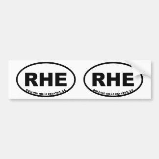 Adesivo Para Carro Propriedades de RHE Rolling Hills