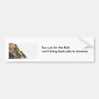 Adesivo Para Carro Reduções nos impostos para os ricos