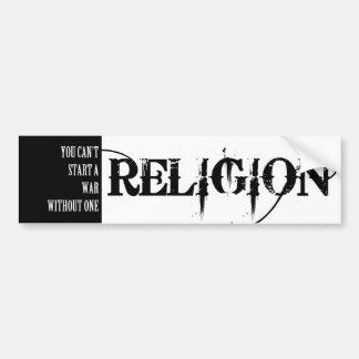 Adesivo Para Carro Religião-você não pode começar uma guerra sem uma