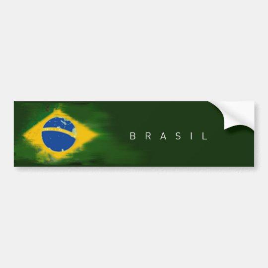Adesivo Para Carro República Federativa do Brasil sticker