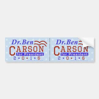 Adesivo Para Carro Republicano 2016 do presidente eleição do Dr. Ben