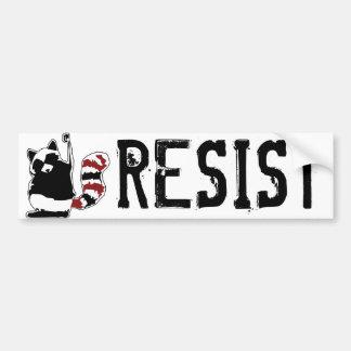 Adesivo Para Carro Resista Donald Trump pára-choque do punho do