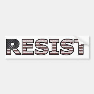 Adesivo Para Carro RESISTA - patriótico