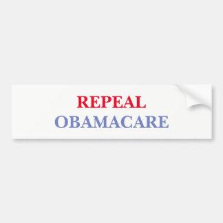Adesivo Para Carro Revogação Obamacare