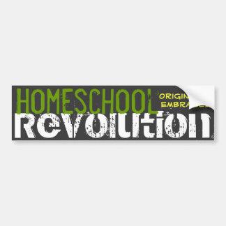 Adesivo Para Carro Revolução de Homeschool - originalidade abraçada