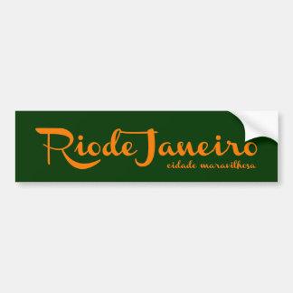 Adesivo Para Carro Rio Rio a cidade da maravilha