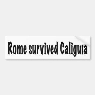 Adesivo Para Carro Roma sobreviveu a Caligula