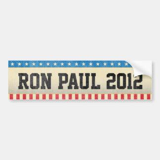 Adesivo Para Carro Ron Paul 2012