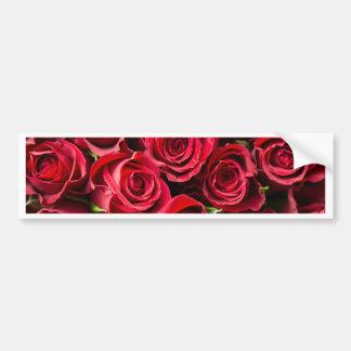 Adesivo Para Carro Rosas vermelhas do dia dos namorados