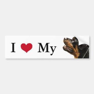 Adesivo Para Carro Rottweiler