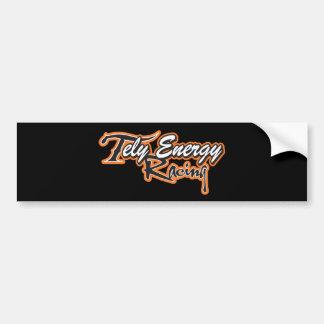 Adesivo Para Carro Roupa da equipe de competência da energia de Tely