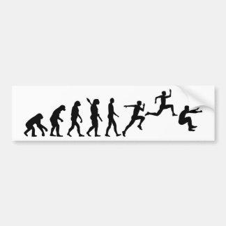 Adesivo Para Carro Salto triplo da evolução