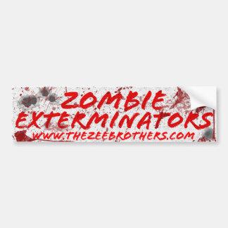 Adesivo Para Carro Sangue dos Exterminators do zombi & etiqueta