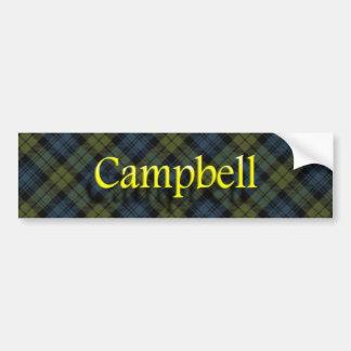 Adesivo Para Carro Scottish de Campbell do clã
