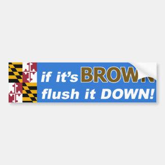 Adesivo Para Carro Se é Anthony Brown para o governador de Maryland….