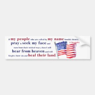 Adesivo Para Carro Se minhas pessoas humble e pray…